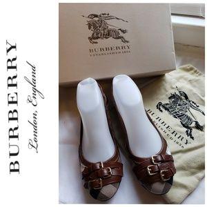 Authenic Burberry Flats